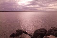 Lake Michigan at Naubinway, Michigan